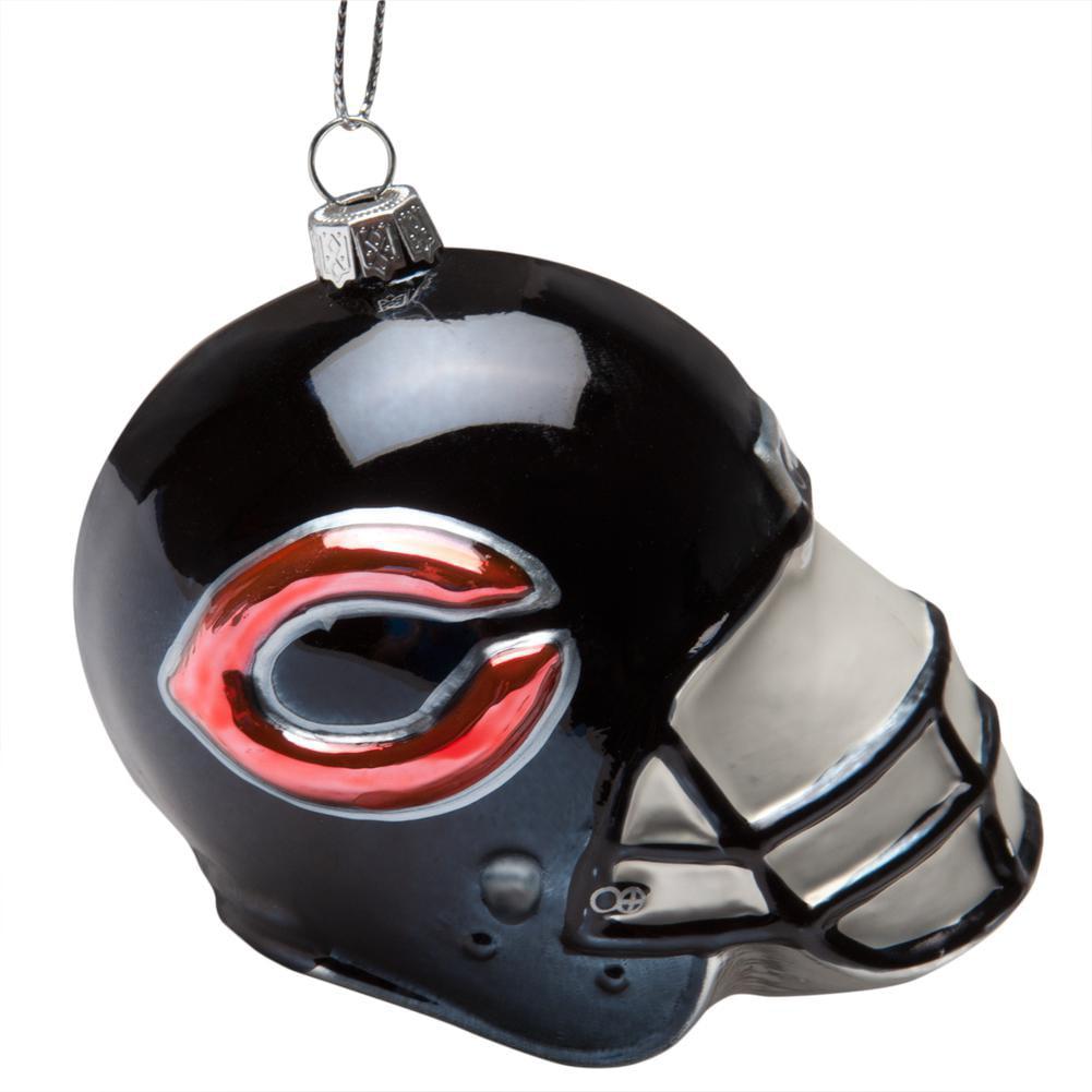 Chicago Bears - Glass Helmet Ornament