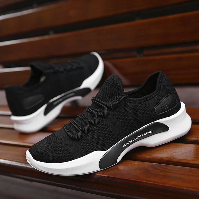 Men Running Shoes Non Slip Comfortable Sports Sneaker Outdoor Walking Shoes