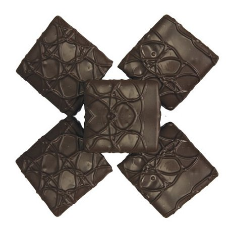 Dark Chocolate Graham Crackers, 4 - Chocolate Graham Cracker