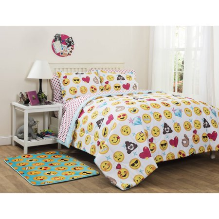 Emoji Pals Bed-In-A-Bag Bedding Set