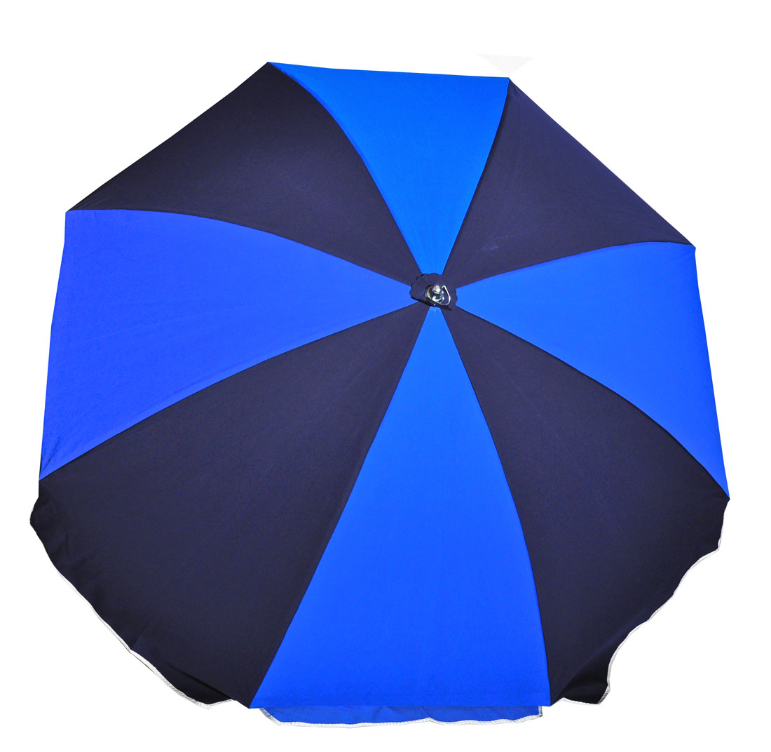 7.5 ft. Fiberglass Commercial Grade Beach Umbrella with Ashwood Pole / Olefin fabric / Carry Bag