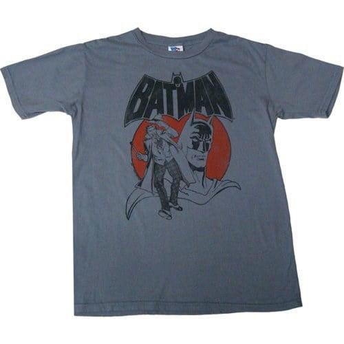 Junk Food Batman Vintage Logo Men/'s T-Shirt
