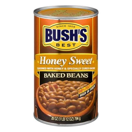 (6 Pack) Bush's Best Honey Baked Beans, 28