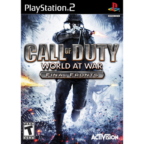 Call of Duty: World at War - Final Fronts (PS2) - Pre-Owned