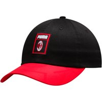 AC Milan Puma DNA Adjustable Hat - Black/Red - OSFA