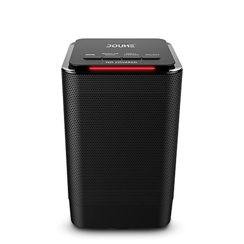 Portable Space Heater Douhe Electric Ceramic Heater 950w