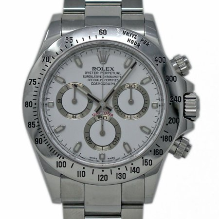 Pre-Owned Rolex Daytona 116520 Steel  Watch (Certified Authentic & (Rolex Daytona Best Price)