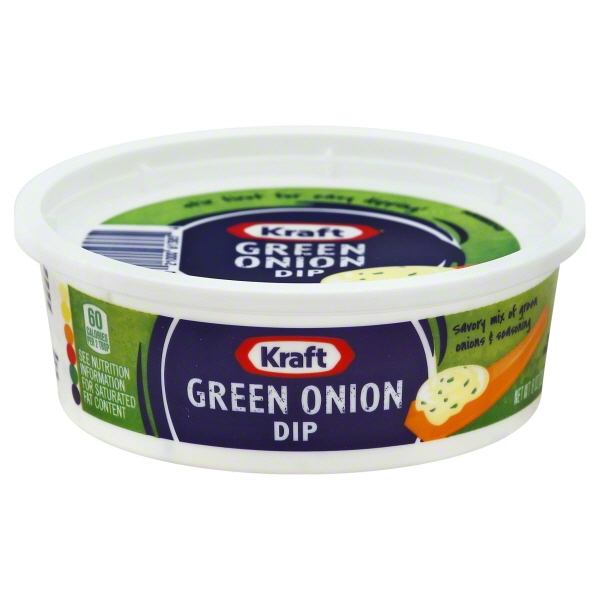 Kraft Dip Green Onion, 8.0 OZ