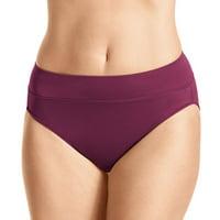 Warner's 5138 All Day Fit No Pinching Hi-Cut Brief Panty