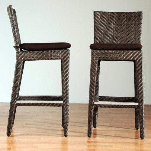Hospitality Rattan Soho 30'' Bar Stool