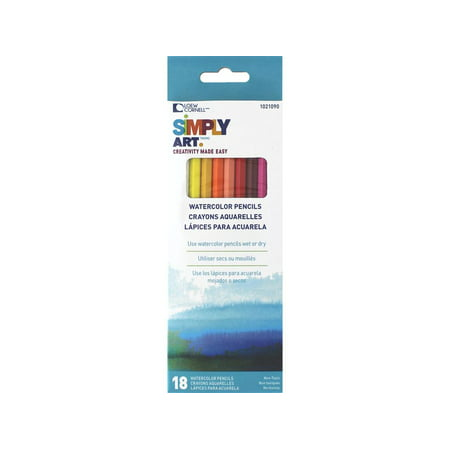 Loew Cornell Simply Art Watercolor Pencils 18pc