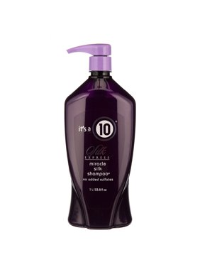 (24% Off Deal) It's A 10 Silk Express Miracle Silk Sulfate Free Shampoo, 33.8 Oz