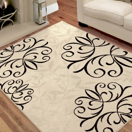 Better homes and gardens iron fleur area rug or runner for Better home and garden rugs