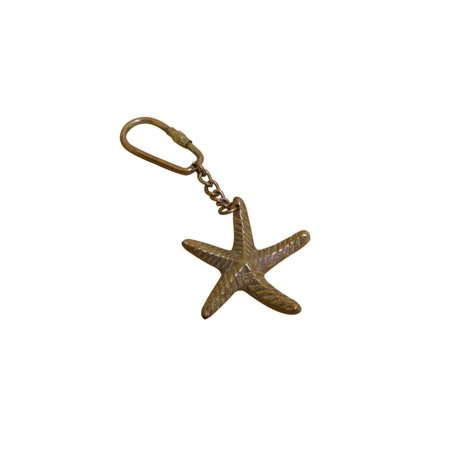 - Antique Copper Starfish Key Chain 5