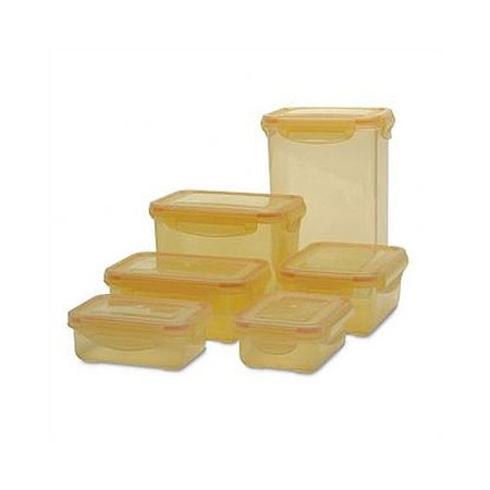 As Seen On Tv By Emson 6 Piece Freshini Food Storage Container Set