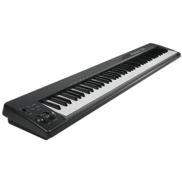 Alesis Q88 88-Key USB MIDI Portable Keyboard Controller by