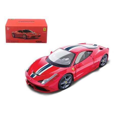 Ferrari 458 Speciale Red Signature Series 1/43 Diecast Model Car by Bburago - image 1 de 1