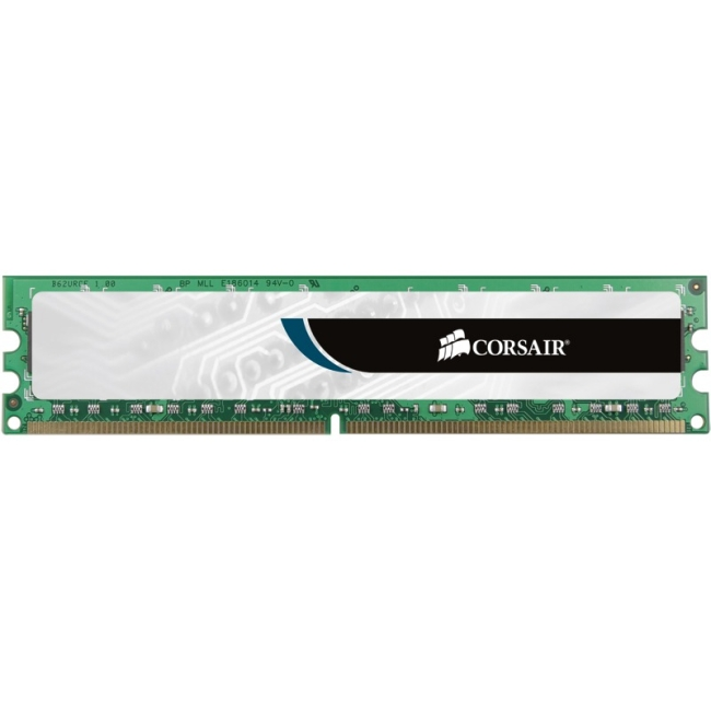 Corsair Memory VS2GB800D2 2 GB PC2-6400 800Mhz 240-pin DDR2 Dual Channel Desktop Memory