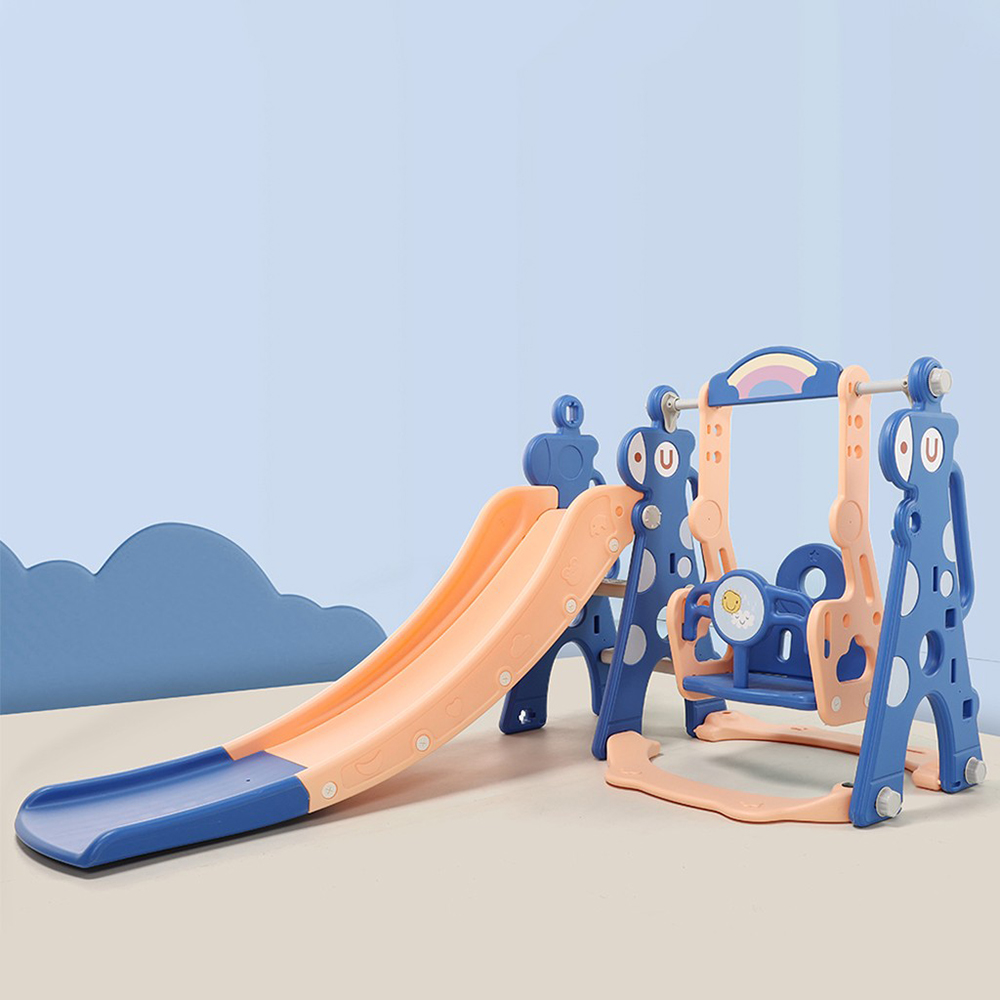 Details about  /4 in 1 Swing Set For Backyard Playground Slide Playset Outdoor Toddler Kids Gift