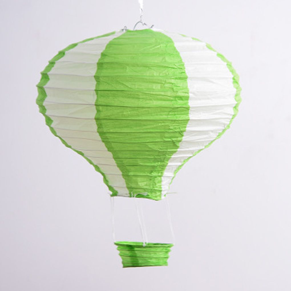 "Holiday Clearance 12"" Folding Rainbow Hot Air Balloon Paper Lantern Wedding Birthday Party Decor"