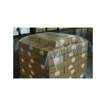 Elkay PlastiCase Clear Polyethylene Pallet Top Sheeting, 1.25 Mil - 1 (Polyethylene Pallet Covers)