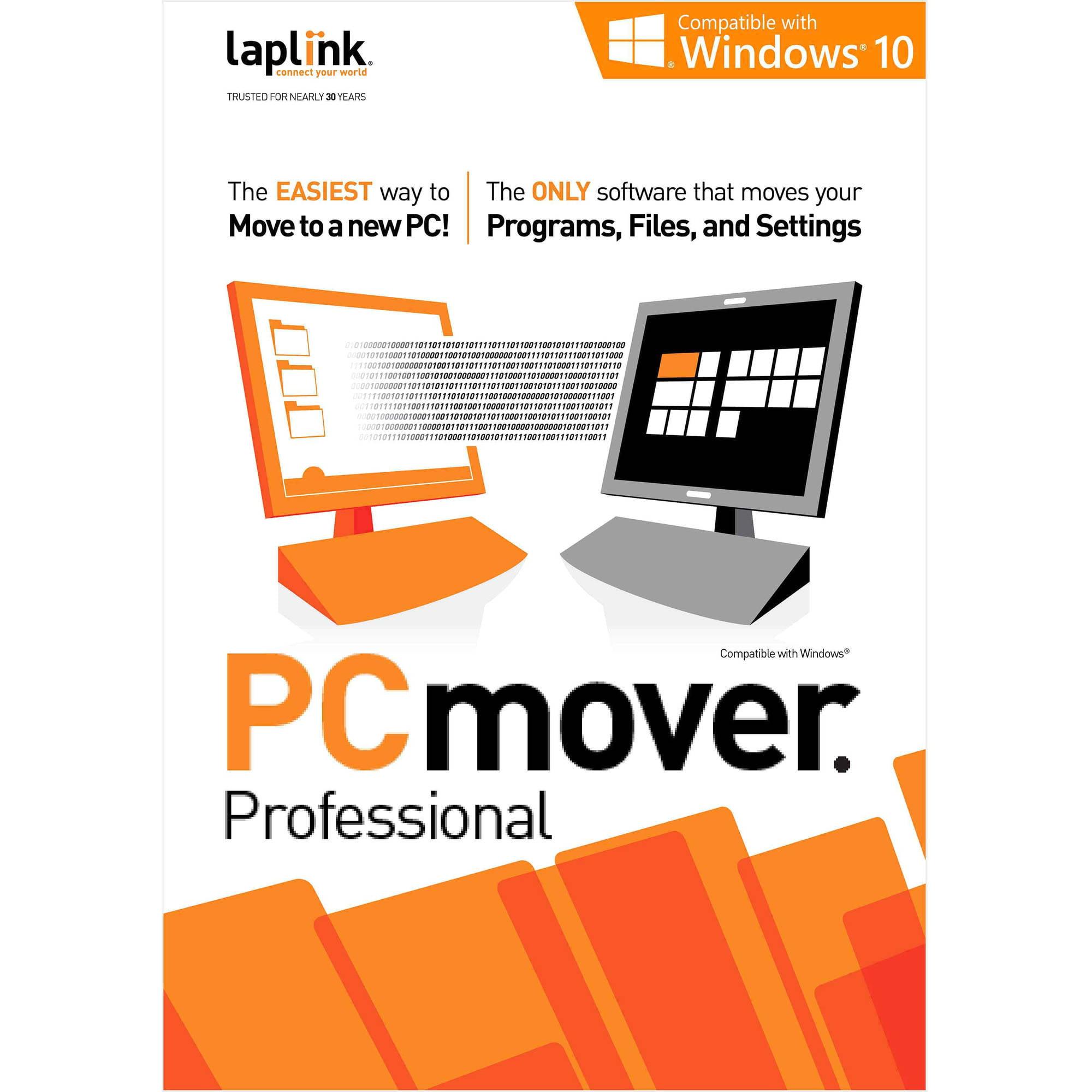 Laplink PCmover 1 Migration Professional 10