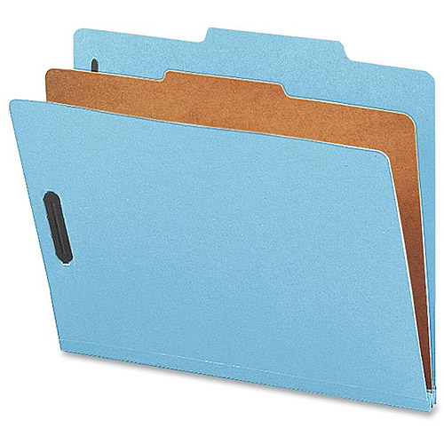 Nature Saver 1-Dvdr Recycled Classification Folders