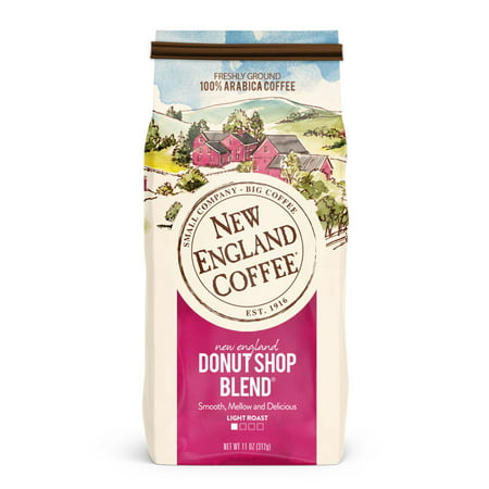 New England Coffee Donut Shop Blend, 11 Oz.