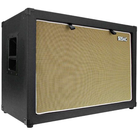 Seismic Audio 2x12 GUITAR SPEAKER CAB EMPTY 212 Cabinet NEW 12
