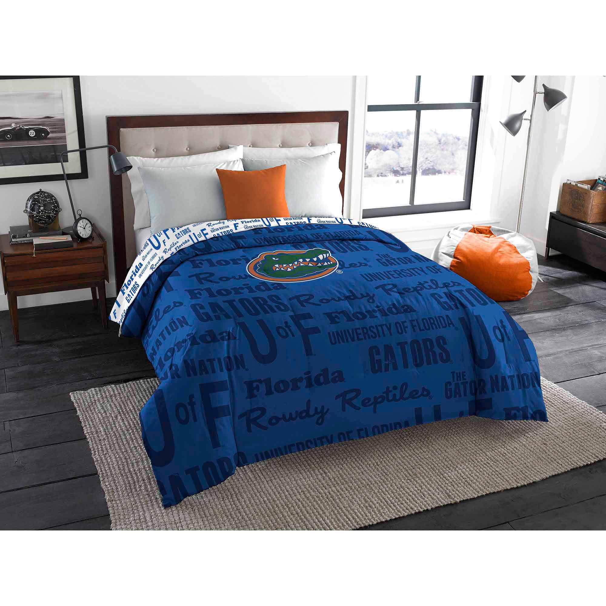 NCAA Florida Gators Twin/Full Bedding Comforter