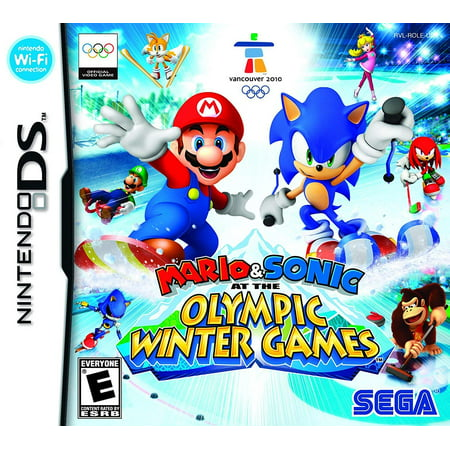 Mario and Sonic at the Olympic Winter Games (Nintendo DS) -