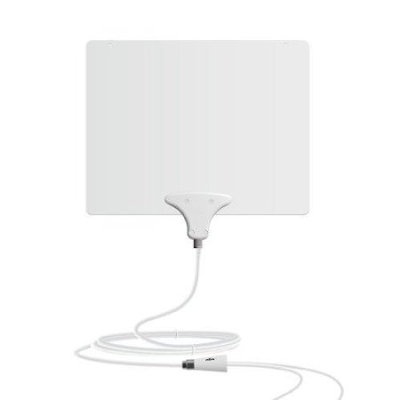 Mohu Leaf 50 Amplified Indoor HDTV Antenna – Made in USA with Premium Cables, Premium Connectors and Premium Materials