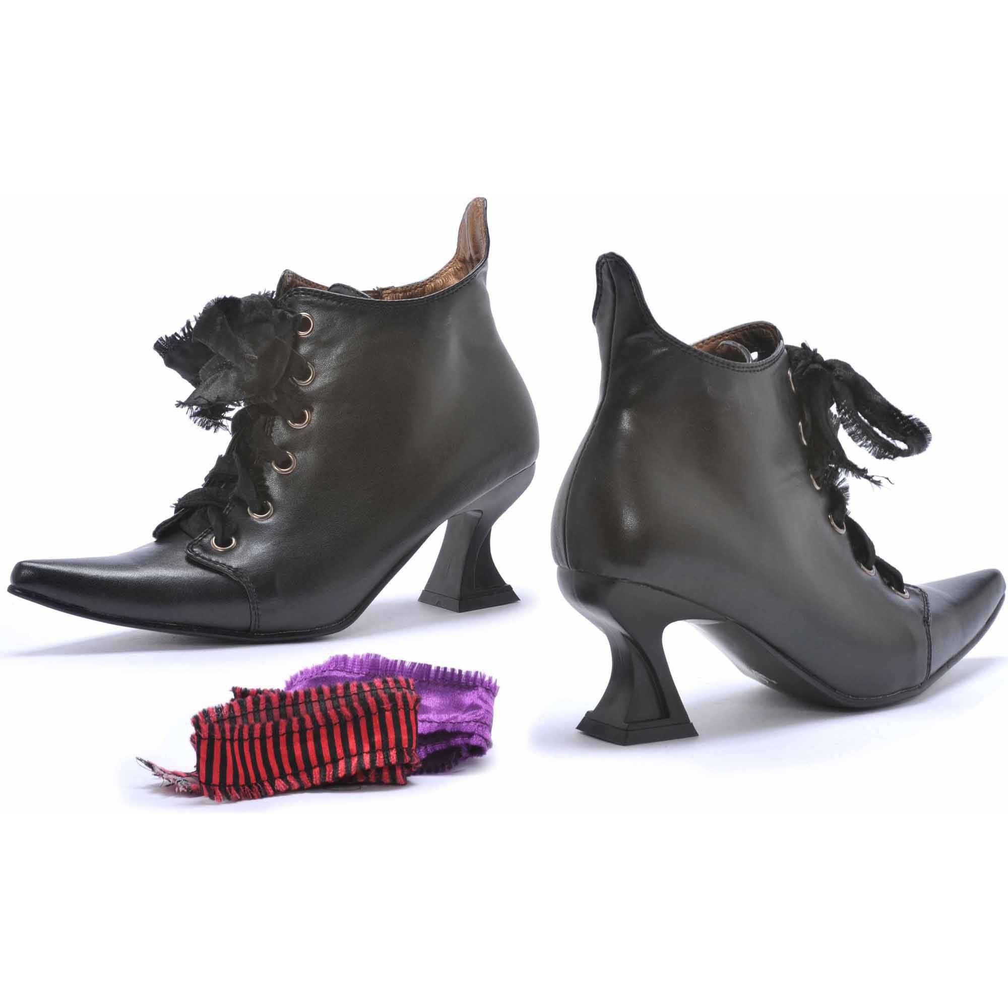 Witch Boots Women's Adult Halloween Costume Accessory