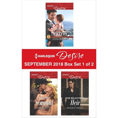 Harlequin Desire September 2018 - Box Set 1 of 2 - eBook