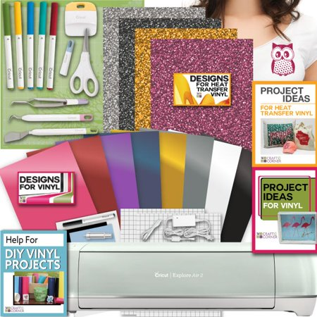 Cricut Explore Air 2 Machine Bundle Heat Transfer  Vinyl Pack  Tools Pen Design
