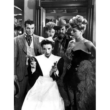 The Harvey Girls Stephen Mcnally Judy Garland Angela Lansbury 1946 Guns Movie Poster Masterprint (Guy Movie Poster)