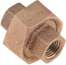 PROPLUS BRASS UNION, 1 IN., LEAD FREE