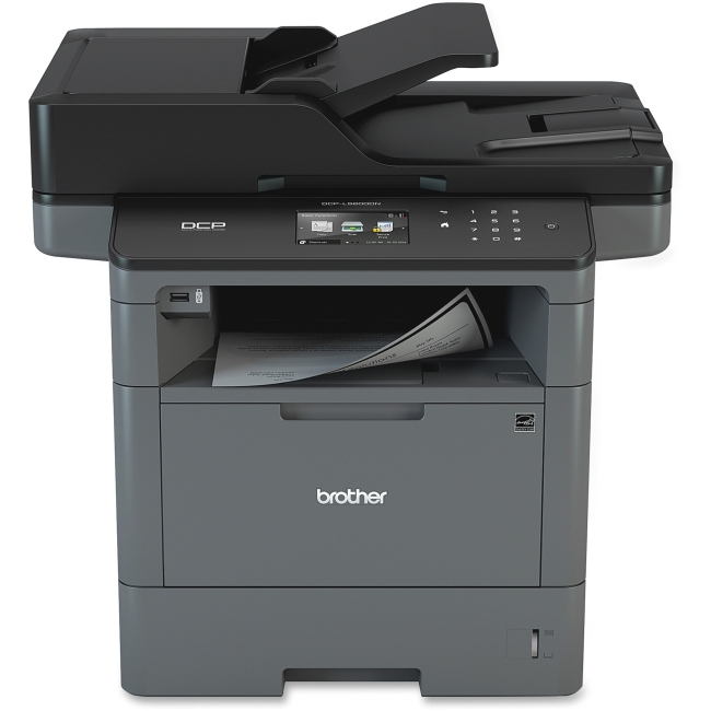 Brother DCP-L5600DN Laser Multifunction Printer Monochrome Plain Paper Print Desktop Copier Printer Scanner 42 by Brother