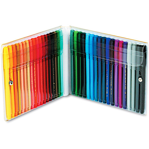 Pentel Fine Point Color Pen Set, 36 Assorted Colors, 36/Set