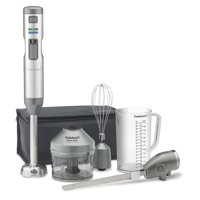 Cuisinart Smart Stick Variable Speed Cordless Hand Blender With Electric Knife, Stainless Steel