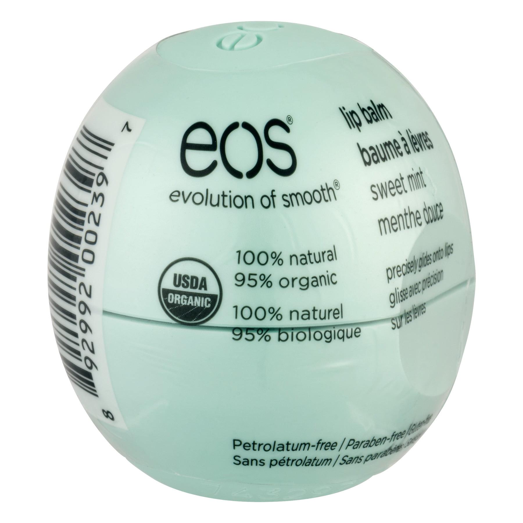 eos Organic Sweet Mint Lip Balm, 0.25oz
