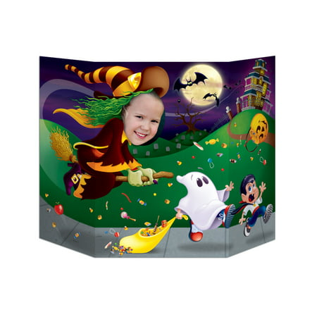Witch Photo Prop Halloween Decoration - Halloween Photo Project
