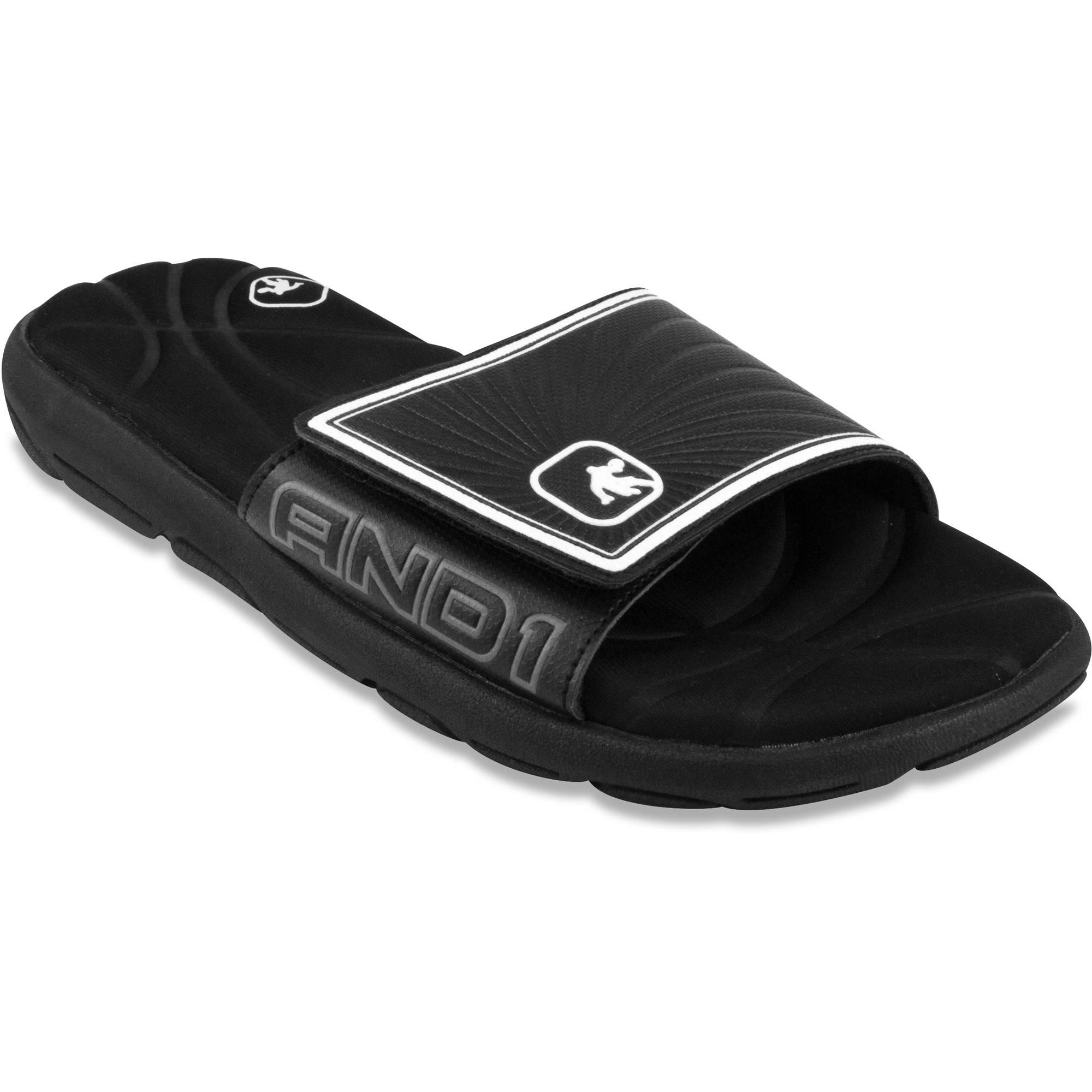 AND1 Men's Baller Slide Sandal