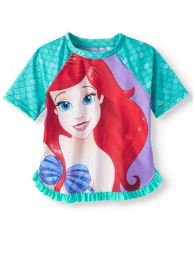 The Little Mermaid Rashguard (Toddler Girls)