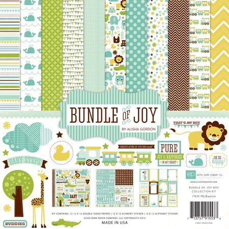 Bundle Of Joy Boy Collection Kit (Joy Scrapbooking)