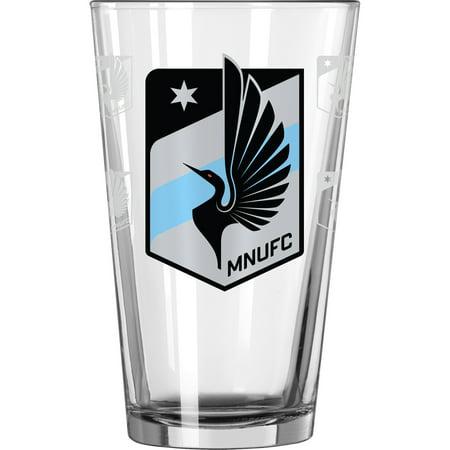 MLS Minnesota United FC 16 oz. Satin Etch Pint -