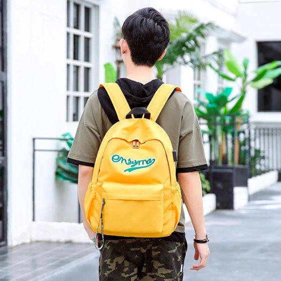 53ec1f90f5 school year - New Fashion Waterproof Casual Solid Backpack School ...
