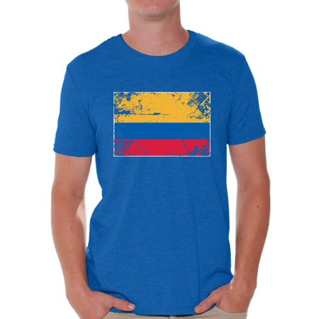 Awkward Styles - Awkward Styles Colombia Flag Shirt for Men Colombian Soccer  2018 Tshirt Gifts from Colombia Flag of Colombia Colombian Men Colombia  Shirts ... 4e3d91b7c