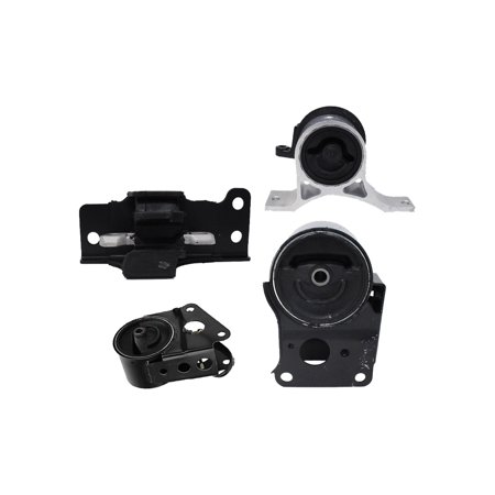 For 2005 2006 Nissan Altima 3.5L V6 Auto Trans Engine Motor & Trans Mount Set 4PCS A7348, A7351, A7358, A7349