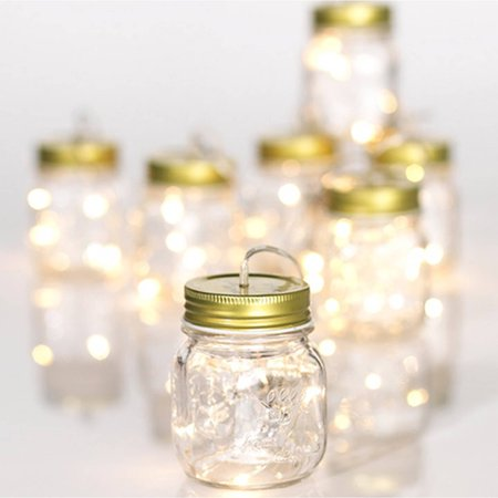 Mason Jar String Light Garland](Light Up Jar)